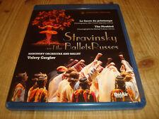 VALERY GERGIEV Stravinsky Ballets Russes MARIINSKY BD BLU-RAY Signed Signiert