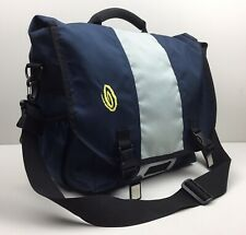 TIMBUK2 Classic Messenger Bag Blue Gray Crossbody Laptop