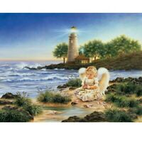 Full Drill DIY 5D Angel Child Diamond Painting Embroidery Cross Stitch Kits Gift