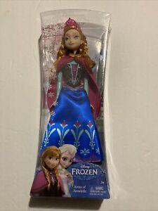 Mattel Disney Frozen Anna of Arendelle Doll Brand New Sealed 11""