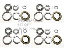 (4) BK3-200 Trailer Bearing Kits 25580/20 14125A 14276 for 5200-7000# Seal 2.125
