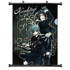Black Butler Anime Fabric Wall Scroll Poster Wall Scroll Creati (16 x 24inch)