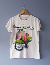 Paul Smith Mens Medium T-Shirt Moped Motif
