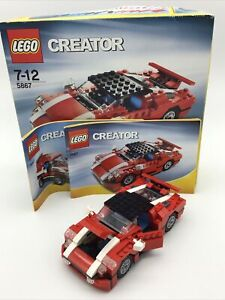 Lego Creator 3in1 5867 Super Speedster With Box And Instructions