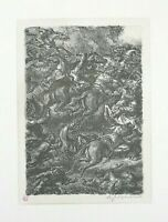 A. Paul Weber - Litografia originale del '69, opera firmata