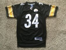 Pittsburgh Steelers Rashard Mendenhall Black Sewn On Field Jersey Youth Sz M