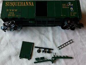 American Models NYSW Susquehanna Box Car #504 S Gauge Scale