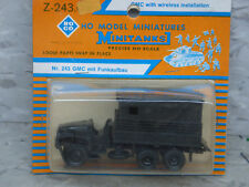 Roco Minitanks (New) WWII US GMC 2.5T Truck W/Wireless Radio Cabin Lot #1816