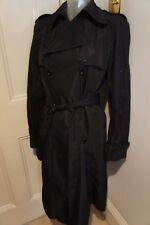 Dolce & Gabbana Black rain coat sz 42/UK 10
