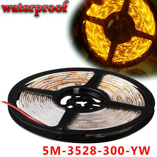 Multi Color 5M/16.4ft 300 SMD 3528 Flexible LED Light Strip Tape IP67 Waterproof