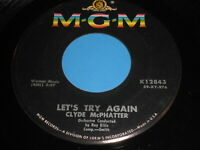 Clyde McPhatter: Let's Try Again / Bless You 45 - R&B