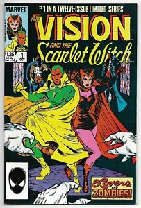 The Vision and The Scarlet Witch #1 (Marvel, 1985) – Origin of Vision – VF-