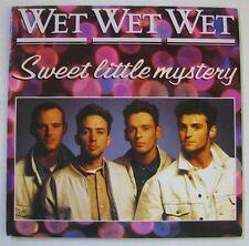 """WET WET WET """"Sweet little mystery""""  SP 7"""" 45T.  1988."""