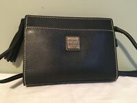 Dooney & Bourke black leather Kenzie crossbody Womens fashion accessory NWT