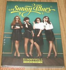SUNNY HILL 1ST ALBUM Part A / Sunny Blues K-POP CD WITH FOLDED POSTER SEALED