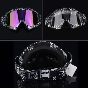 Motorcycle MX Bike Motocross ATV Dirt Protector Off Road Racing Goggles Eyewear