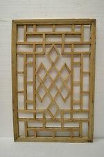 Chinese Antique Wood Carving Panel Window Shutter Wall Art Home Decor DE04-03b