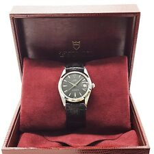 Rolex Tudor Oysterdate Red Date Stainless Steel 34 mm Watch 7992/0 With Box