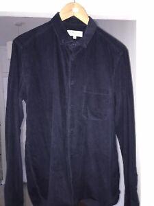You Must Create YMC Blue Cord Shirt Medium Oi Polloi