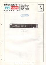 ITT GRAETZ - HIFI 5140 HSA 7500 - Service Manual Schaltplan - B6521