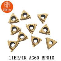 10CS 11ER A60 BP010 carbide inserts for thread turning tool boring bar blade