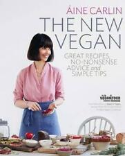 Aine Carlin THE NEW VEGAN cookbook - great recipes & simple tips  - RRP 35,- Au$