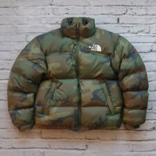 Vintage Rare North Face 700 Down Nuptse Puffer Jacket Camo Camouflage Puffy