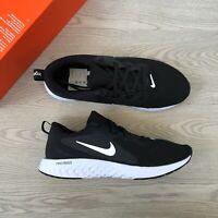 Nike Men's Legend React Trainers - Black / White Shoes - UK 7 US 8