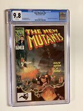 New Mutants 22 Cgc 9.8 White Pages Marvel Copper Age X-men