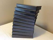 VHS Empty Cases Black Reuse Upcycle Storage Crafts Bundle Job Lot 10 In Total