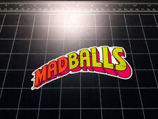 MadBalls toy logo vinyl decal sticker 1980s vintage horror Amtoy toys