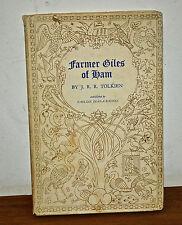 Farmer GIles of Ham J.R.R. Tolkien 1st Edition hardback