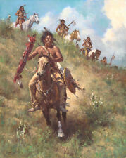 Howard Terpning HONOR OF BEING PIPE CARRIER giclee canvas ARTIST PROOF A/P#11/25