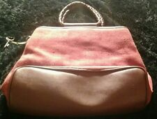 Fossil Rust Colored 75082 Handbag With Key Cute!