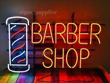 "New Barber Shop Beauty Neon Sign Light Lamp 32""x24"" Artwork Man Cave Decor"