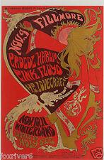 PINK FLOYD / PROCOL HARUM  Window Poster / Handbill - Winterland 1967 - Preprint