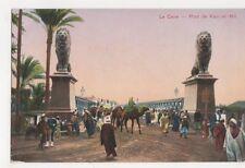 Egypt, Le Caire, Pont de Kasr-el-Nil Postcard, B193