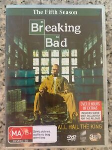 Breaking Bad Season 5 - DVD - Very Good condition - five fifth series