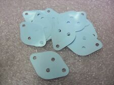20pcs  TO-3 THERMAL RUBBER SILICON TRANSISTOR INSULATOR PAD TO3 ISOLATOR GRAY