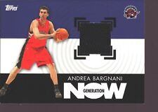 ANDREA BARGNANI 2006-07 TOPPS ROOKIE JERSEY PATCH RC SP KNICKS RAPTORS $12
