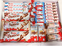 Kinder Bueno Selection Gift Box hamper for chocolate lover gift xmas + Free P&P