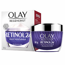 OLAY Regenerist Retinol 24 Night Face Cream Moisturiser 50ML *Original & Sealed*