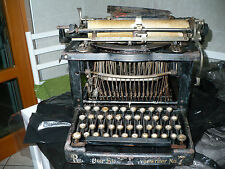 Antica macchina da scrivere americana  Remington Standard Typewriter MOD N. 7