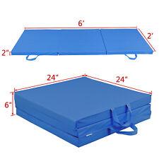 Heavy Duty Tri-Fold Folding Mat Thick Foam Exercise Aerobics Yoga Martial Panel