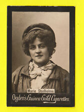 OGDENS GUINEA GOLD - SCARCE LARGE PHOTO CARD - ACTRESS - MARIE STUDHOLME  - 1900