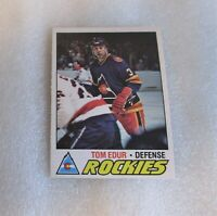 1977-78 O-Pee-Chee Tom Edur Rookie Card! Colorado Rockies #169 RC VG OPC
