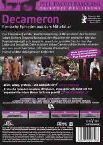 Decameron - Erotische Episoden aus dem Mittelalter [DVD/NEU/OVP] Pier Paolo Paso