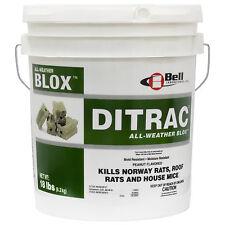 Rat Mouse Bait Blocks 18 Lbs House Mouse Rodent Rat Mouse Killer Bait Blocks