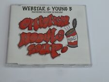 Webstar & Young B Feat The Voice Of Harlem ‎– Chicken Noodle Soup - Promo CD