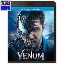 VENOM Blu-ray 3D + 2D (REGION FREE) SHIPS NEXT BUSINESS DAY!                (IT)
